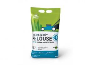 Engrais minéral pour pelouse étape 1