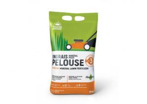 Engrais minéral pour pelouse étape 3