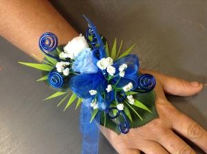 Bracelets en roses éternelles