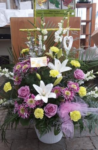Corbeille funéraire 28
