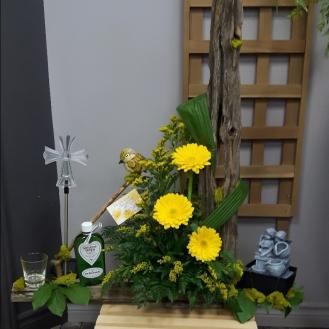 Corbeille funéraire 42