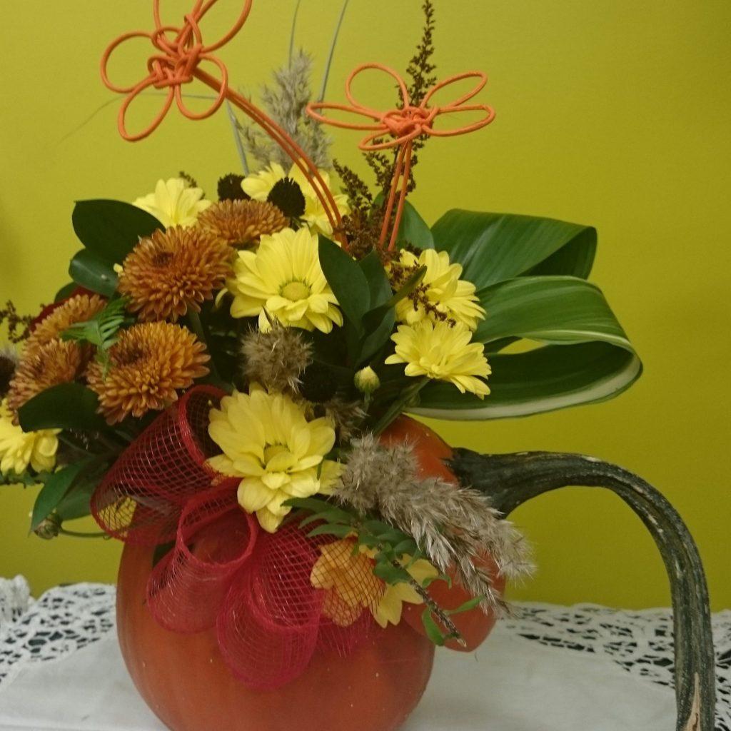 Composition Florale Centre De Table Automne centre de table automne – bienvenue aux jardins de la passion
