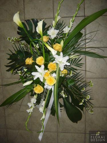 Corbeille funéraire 57