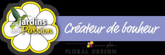 Logotype les jardins de la passion et Floral Design Plus